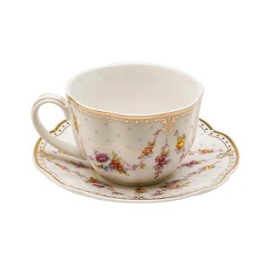 Rose Swag Cup & Saucer