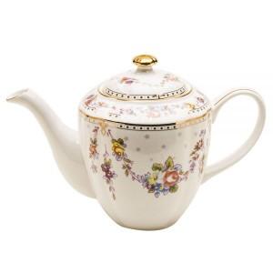 Rose Swag Teapot