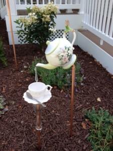 Teapot Garden Art