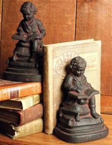 Young Reader Bookends (pair)